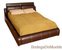 Base para Cama clásica con diseño que brindara sensación de confort a tu habitación.