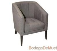 Sillón Cómodo Moderno y trendy este sillón en color gris se convertirá en tu mueble perfecto.