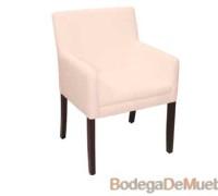 Sillón Cómodo Moderno color crema, este sillón se convertirá en su mueble perfecto.