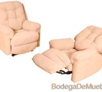 Sillón Reclinable diseñado para extra confort sin perder el estilo fabricado de los mas finos materiales y acabados.