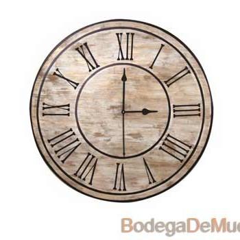 """Reloj para decoración de interiores Melody """"Tiempo"""""""