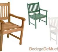 silla para exterior