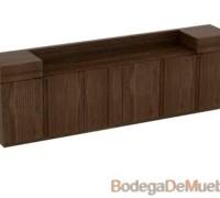 Bufetera de Madera también disponible en 1.80 x 42 x 79, fabricado en madera de fresno.