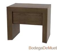 Buró para Recámara minimalista básico para cualquier diseño.