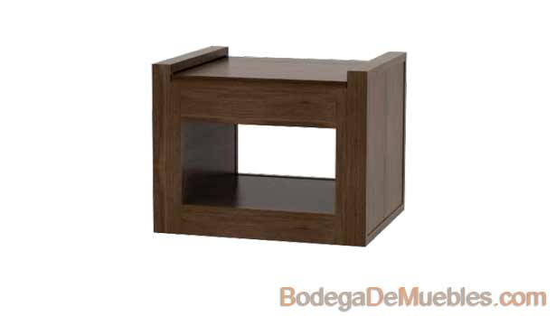 Mesa Lateral  fabricada en fresno y alder.