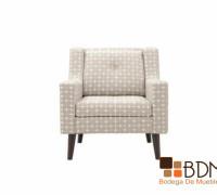 Sofa moderno individual - blanco - relax