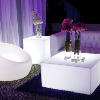 Muebles Lounge con Luz Led