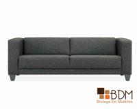sofa gris - moderno - amplio - elegante