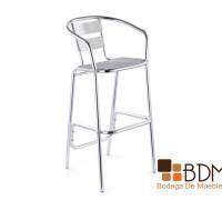 19-silla alta-restaurante-aluminio-exterior-mueble