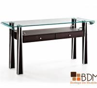 Buffetero de cristal-credenza-comedor-contemporaneo-mueble