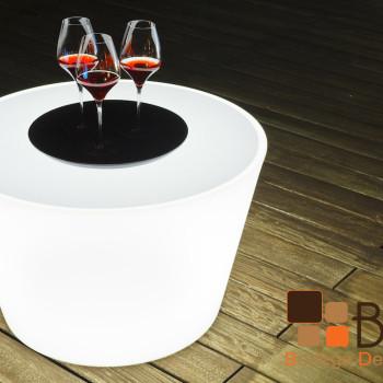 Mesa Lounge Iluminada Nash