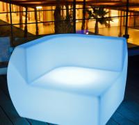 Sillón Lounge Iluminado Bellatrix