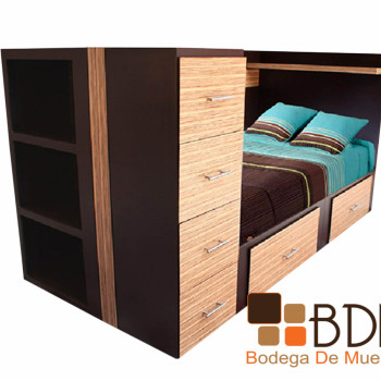 Moderna Cama multifuncional Dreams Brownie