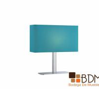 lámpara juvenil azul