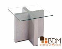 mesa lateral blanca