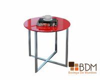 mesa lateral vanguardista