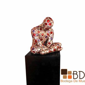 Escultura Hombre Pensativo Lempicka