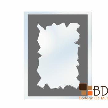 Espejo Decorativo Tipo Papel Antiguo Mirror Shield