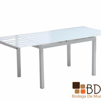 Mesa con Extensión en Color Blanco Vachel