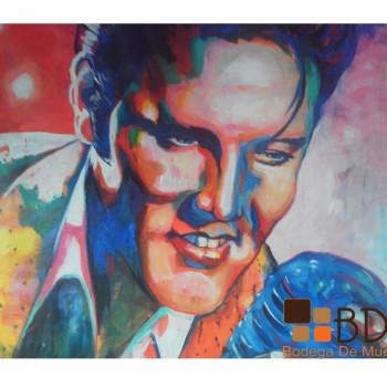 Pintura tipo Pop Art Technicolor