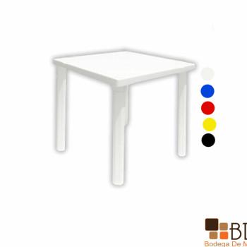 Mesa para Exterior Cuadrada Plastik