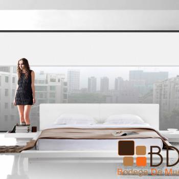 Recámara King Size Color Blanco Furniture
