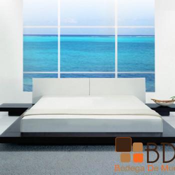 Recámara Moderna con Base de Madera Furniture