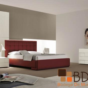 Recámara Moderna en Color Ladrillo Furniture