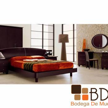 Recámara Vanguardia Elegante Furniture