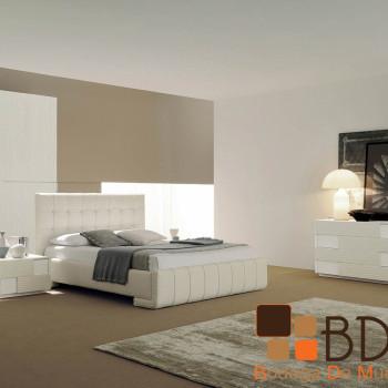 Recámara con Diseño Élite en Color Blanco Furniture
