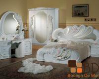 Recámara con Estilo Romántico Furniture