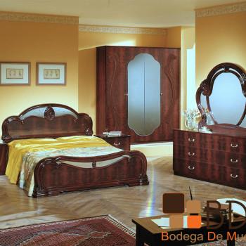 Recámara de Madera con Luna Furniture