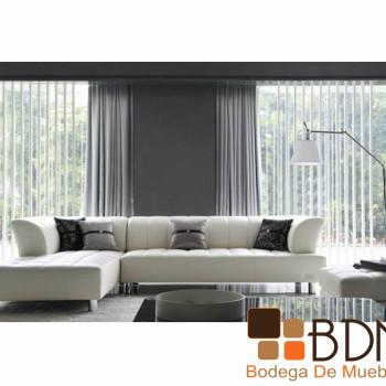 Sala Moderna en Color Blanco Amber