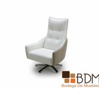 Sofá Lounge Cómodo en Color Blanco