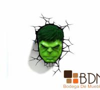 Lámparas de Hulk