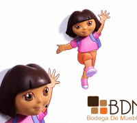 Lámparas para niña Dora la Exploradora