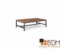 Mesa para sala estilo industrial