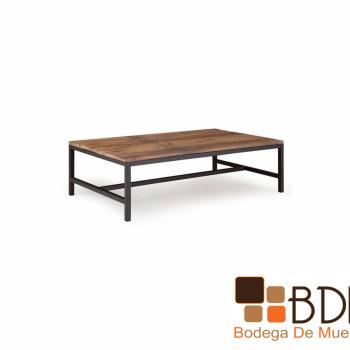 Mesa para sala estilo industrial Delanoise