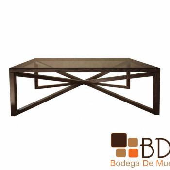 Mesa de Centro color Chocolate Beatriz