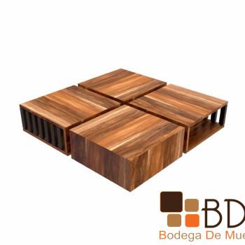 Mesa de Centro en madera Oliva