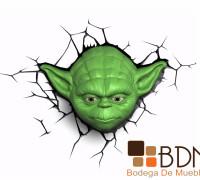 Lámpara de Yoda