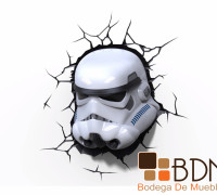 Novedosa Lámpara Storm Trooper