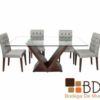 Mesa Contemporánea para Comedor Justo