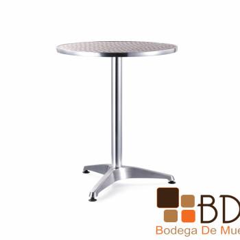 Mesa de Aluminio 60 cm Verona