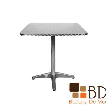 Mesa de Aluminio Cuadrada Foscari