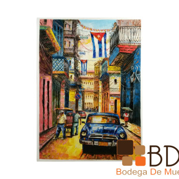 Pintura al Óleo Importada Cuba