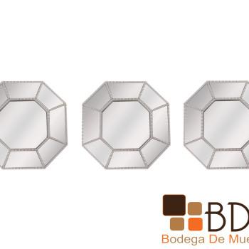 Set de Espejos Decorativos Levana