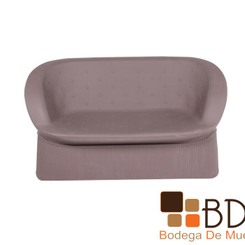 Love Seat para Exterior Moonlight Naktam