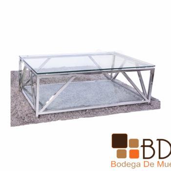 Mesa de Centro de Cristal Pannali Bent