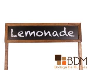 Decoración Antigua Puesto Lemonade